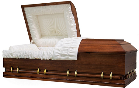 Photo of Wood- OVERSIZE Caskets Casket