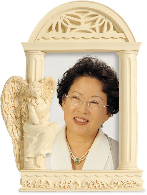 Photo of Angel of Courage Photo Frame Casket
