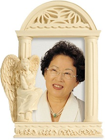 Image of Angel of Courage Photo Frame Casket