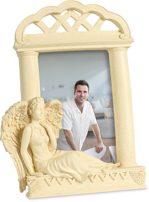 Photo of Reflection Angel Memory Photo Frame Casket