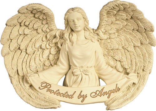 Photo of Wall Hanging - Protected by Angels Casket