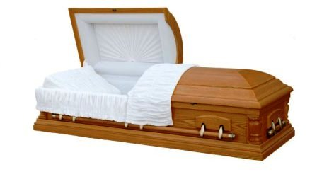 Photo of Wood Caskets - VENEER Casket