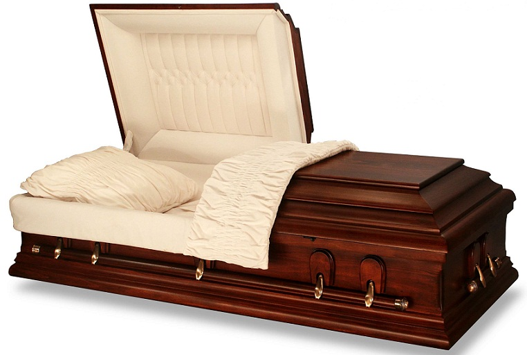Photo of Our CHERISH Poplar Oversize 31 - 36 inch Casket Casket