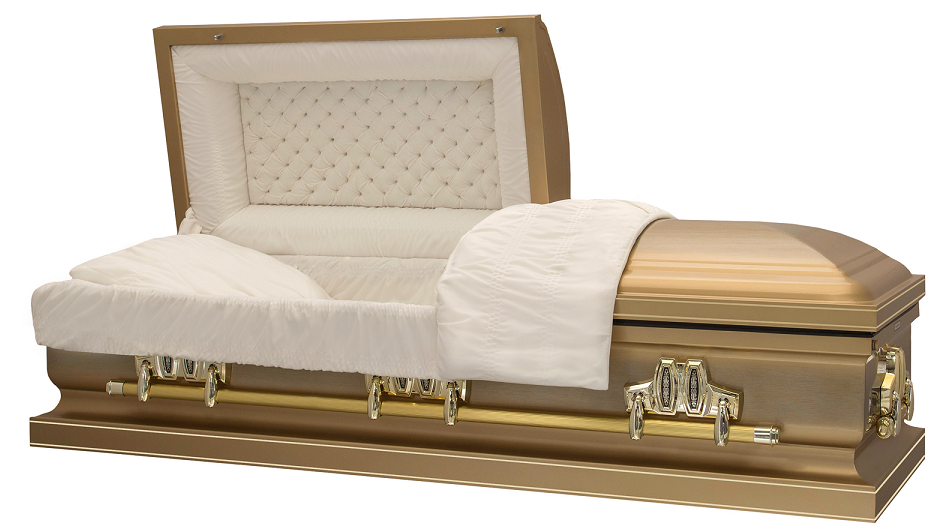 Photo of ROYAL AUTUMN GOLD Steel Casket Casket