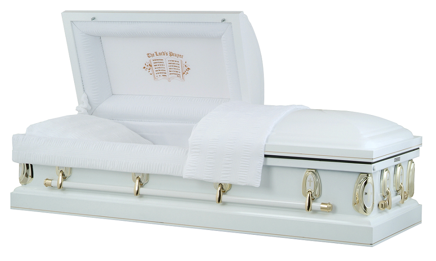 Photo of Heavenly Devotion - Lords Prayer Casket Casket