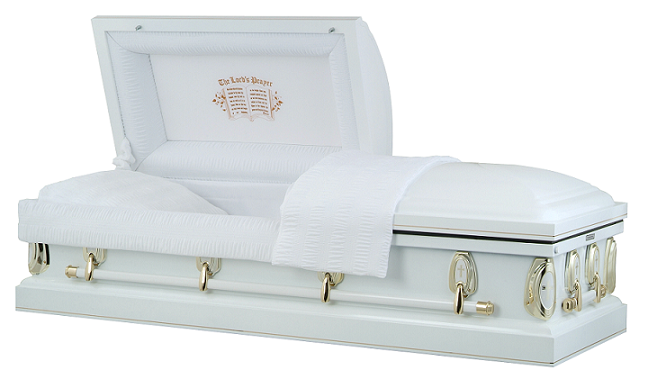 Image of Heavenly Devotion - Lords Prayer Casket Casket