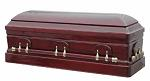 Photo of Wood Caskets - TEAKWOOD Full Couch Casket