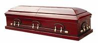 Image of Executive Solid Poplar Casket Casket