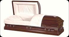 Photo of Wood Caskets - MAHOGANY Casket