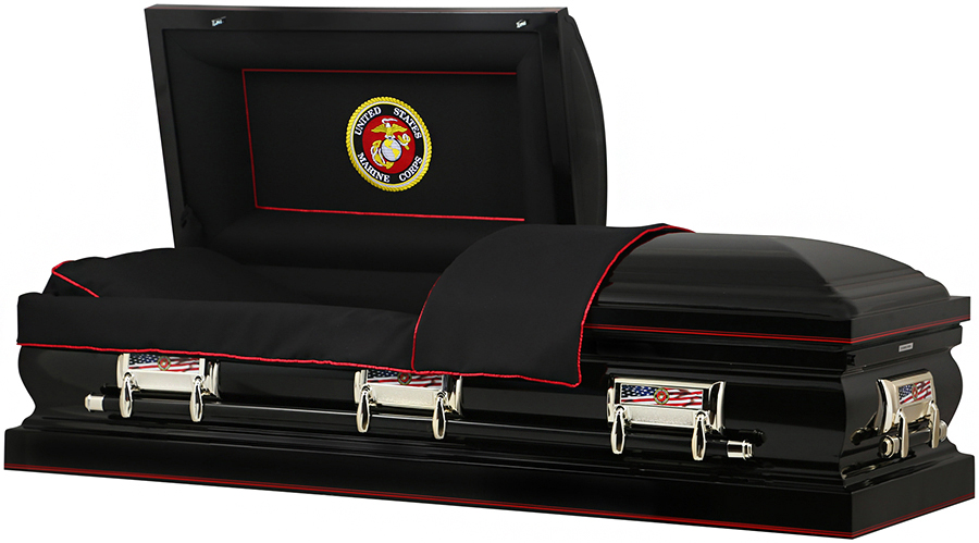 Photo of MARINE CORP US STEEL CASKET Casket