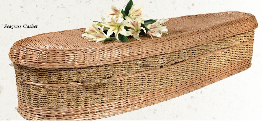 Photo of Seagrass Nature Casket Casket