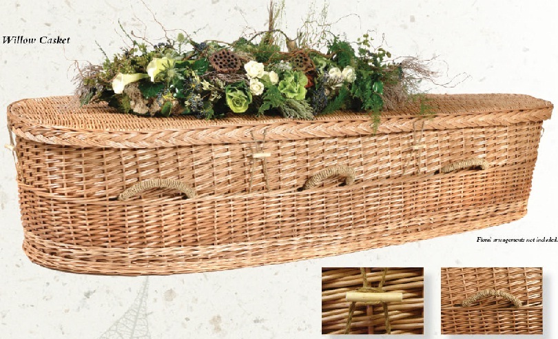 Photo of Willow Nature Casket Casket