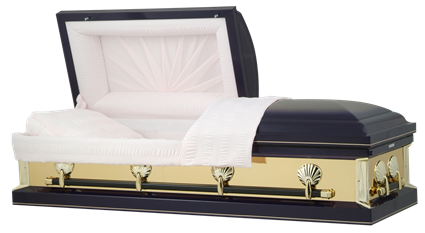Photo of Purple Haze Gold Mirror Casket Casket