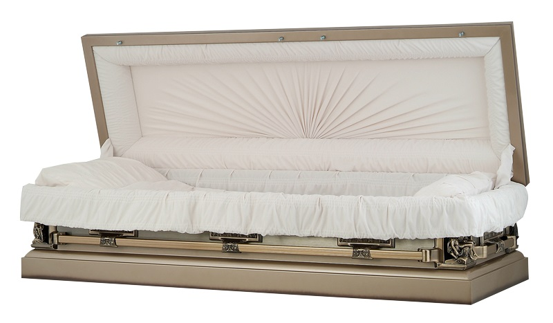 Photo of Autumn Haze La Pieta Full Couch Casket Casket