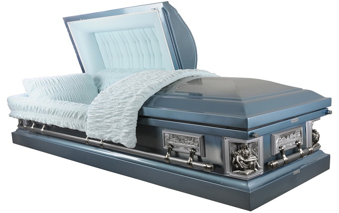 Photo of Stainless Steel La Pieta Casket Casket