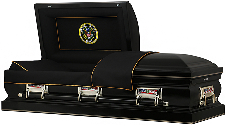 Image of US ARMY American Steel Casket Casket