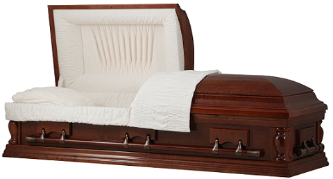 Image of LEGACY CHERRY WOOD Casket Casket