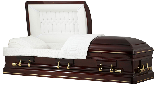 Image of ROYAL CUMBERLAND CHERRY WOOD Casket Casket