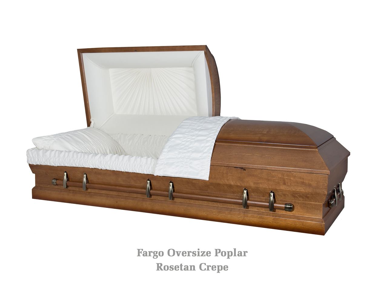 Photo of OVERSIZE Solid POPLAR - The FARGO Casket
