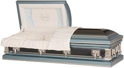 Image of Tribute To Father Steel Casket Casket