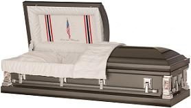 Image of Love and Honor Military Casket Casket