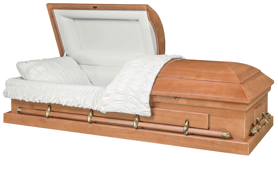 Photo of CONTINENTAL LIGHT FINISHED PAULOWINA Wood Casket Casket