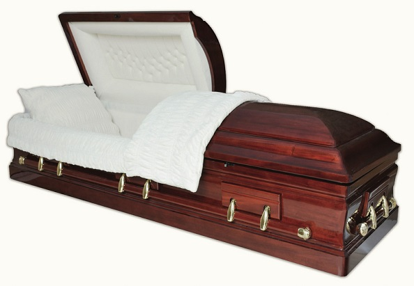 Image of SOLID MAHOGANY DIGNITY STAR casket Casket