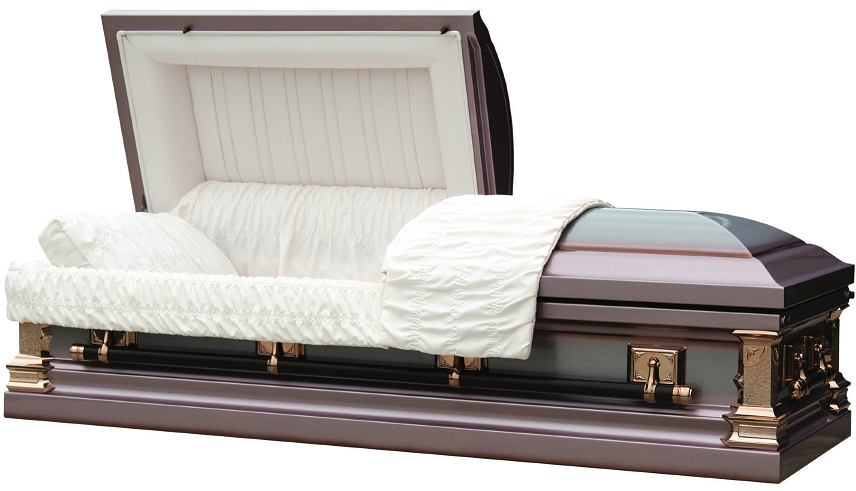 Photo of Lilac Duchess Metal Casket Casket
