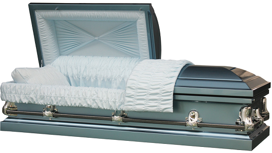 Image of Galaxy Blue 20GA Steel Casket Casket