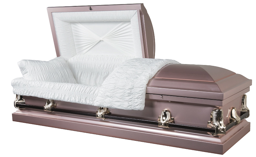 Photo of Galaxy Rose 20ga Steel Casket Casket