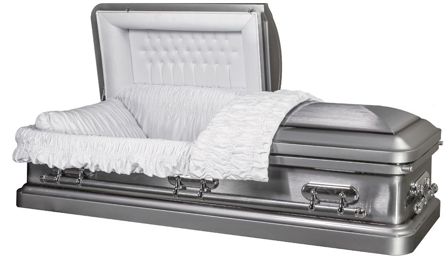 Photo of HERITAGE SILVER metal casket Casket