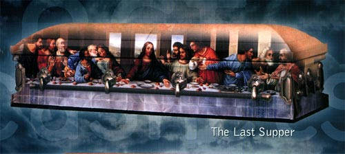 Photo of LAST SUPPER Art  - SPECIAL PRICE! Casket