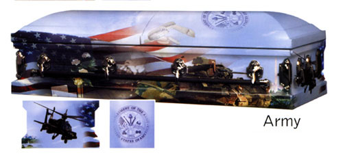 Image of AAA - US ARMY Art Casket Casket