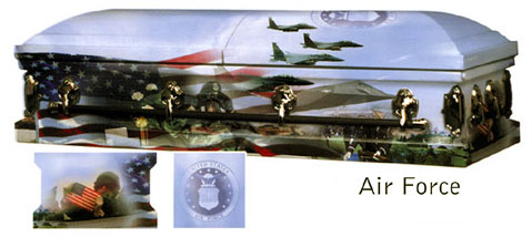 Image of AAA - US AIR FORCE Art Casket Casket