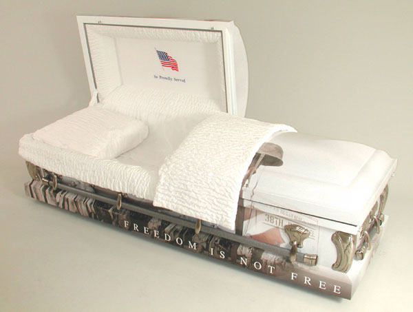 Veteran Art Casket - Korea