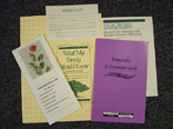 Funeral Planning Package