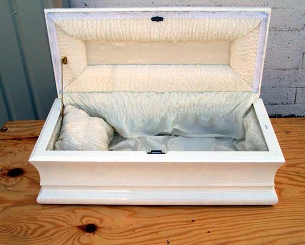 Photo of Wooden Pet Caskets Plan Urn