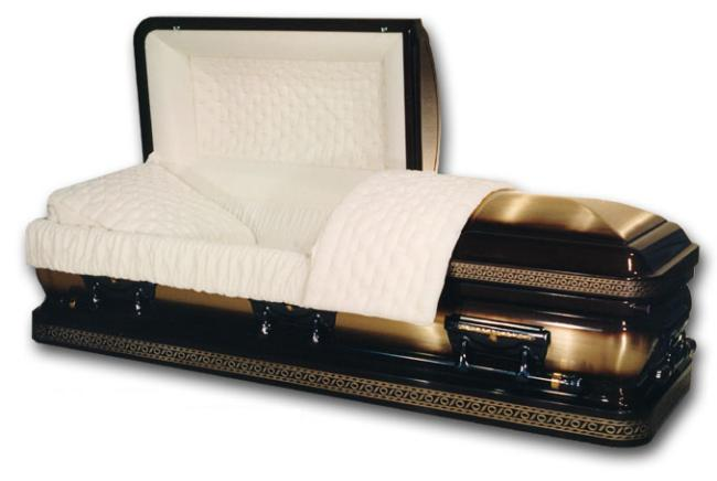 Photo of Bronze - Winchester Half Couch Casket