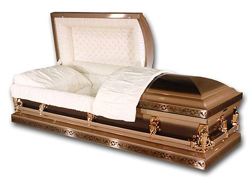 Picture of Florence Bronze Casket Casket
