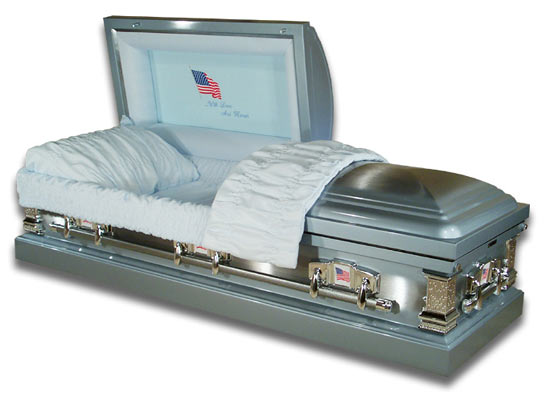 Picture of In Honor of Your Service -  Veterans Casket Casket