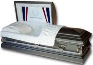 Picture of Honor & Tribute Veteran Casket Casket