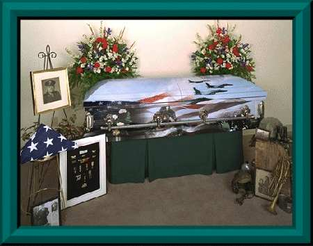 Picture of PERSONAL CUSTOM DESIGN - Art Casket Tributes Casket